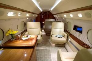 Gulfstream V Aft View